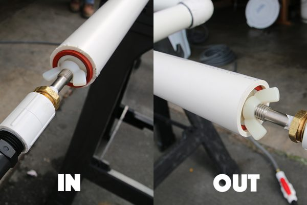Application instructions for using Pipefuze to stop leaks.